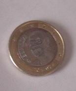 Modifizierte Euro-Münze