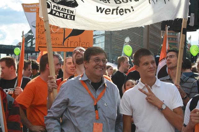 Jörg Tauss mdB war natürlich auch dabei